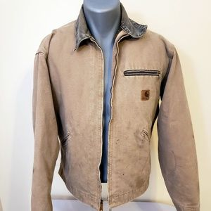 Carhartt Canvas Lined Mens Work Jacket - Small